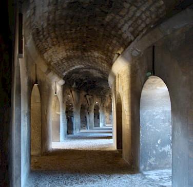 Arles - Roman amphitheatre - photo by Clare MacKeigan