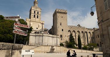 Palais des Papes, Avignon, Provence. Photo via Flickr:Michal Osmenda
