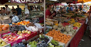Market in Provence. Photo via Flickr:Michal Osmenda