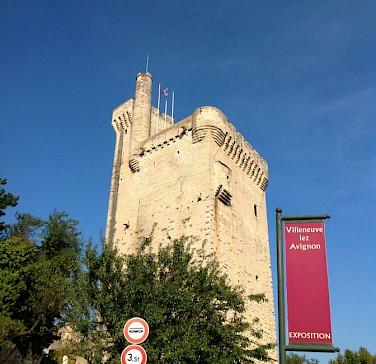 Villaneuve les Avignon - at the spot where you meet the boat. Photo by Carla.