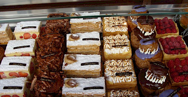 typical yummy pastries - photo by Clare MacKeigan