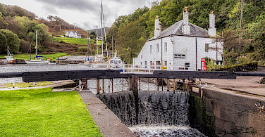 Crinan Basin in Scotland. Flickr:Steven dosRemedios
