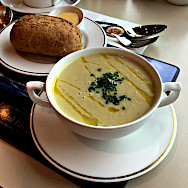 Cullen skink, a seafood soup is a Scottish favorite. Flickr:Jason Raia