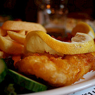 Fish and Chips in Scotland. Flickr:leigh wolf