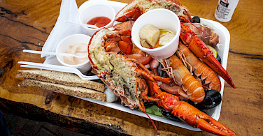 Lobster from the locals in Scotland! Flickr:Shadowgate