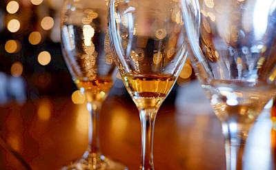 Scotch tasting in Scotland Highlands of course! Flickr:Daniel Stockman