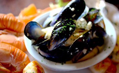 Seafood in Scotland! Flickr:Christian Kadluba