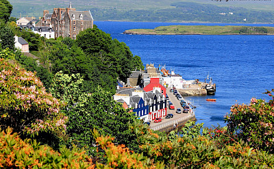 Tobermory, the capital of the Isle of Mull in Scotland. Flickr:Frank Pickavant