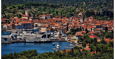 Harbor on Cres Island, Croatia. Photo via Flickr:Mario Fajt