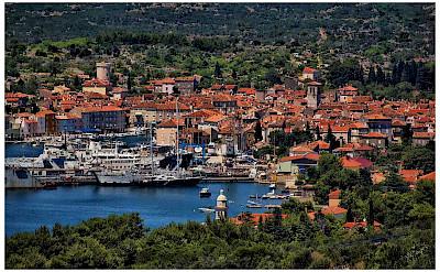 Harbor on Cres Island, Croatia. Photo via Flickr:Mario Fajt
