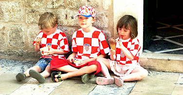 Summertime ice cream in Croatia. Photo via Flickr:Ailsa