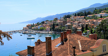 Harbor in Opatija, Croatia. Photo via Flickr:Ronnie Macdonald