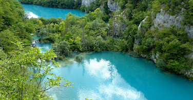 Plitvice Lakes in Croatia. Photo via Flickr:Chucacimas