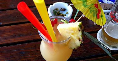 Fruity drink on Rab Island, Kvarner Bay, Croatia. Photo via Flickr:David Bailey