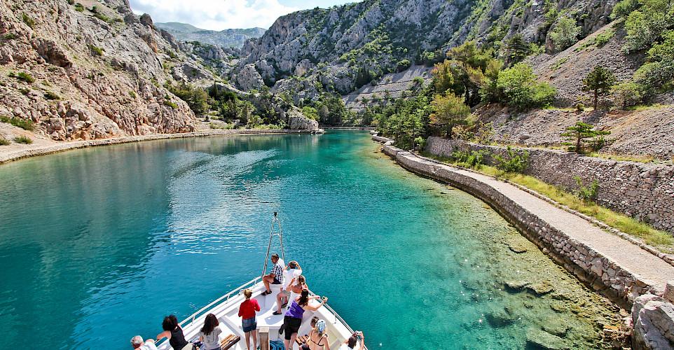 Boating to Rab Island, Kvarner Bay, Croatia. Photo via Flickr:Patty Ho