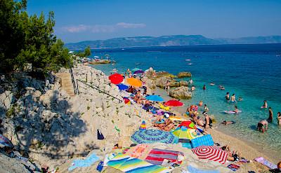 Sunbathing in Rabac, Kvarner Bay, Croatia. Photo via Flickr:erwan.Iher