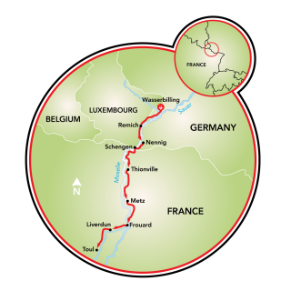 Lorraine Tour Map