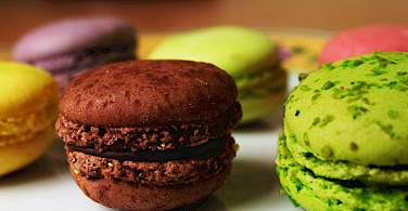Macarons are a favorite in France. Flickr:Marc Kjerland