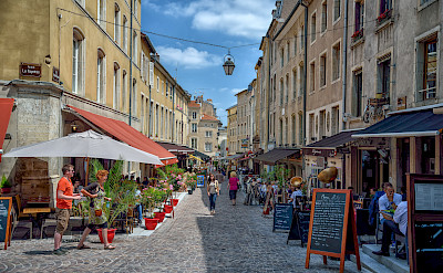 Dining and shopping in Nancy, France. Flickr:Juergen Adolph