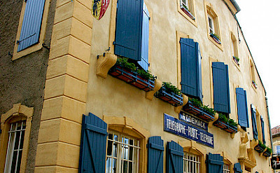 Rodemack, France is famous for being a gorgeous town. Here its Post Office. Flickr:Gilles FRANCOIS
