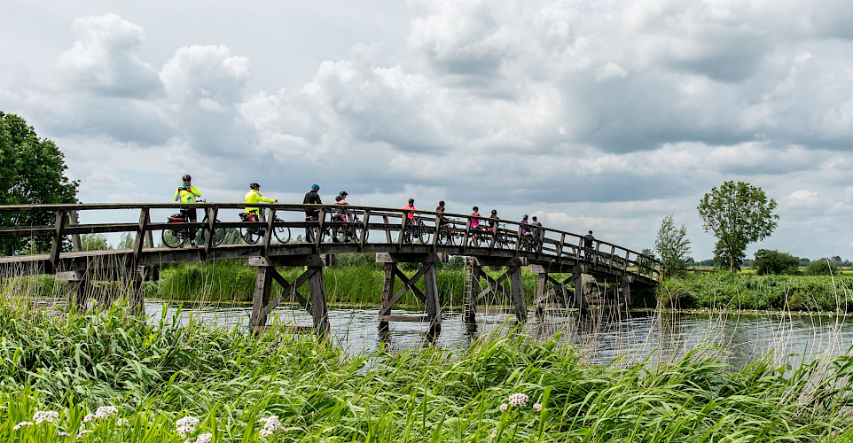 Biking in south Holland. ©TO
