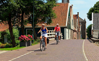 Serene biking in Holland. ©TO