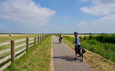 Quiet bike paths in Holland. ©TO-Nicholas Muza