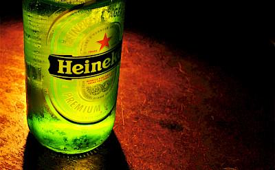Heineken beer in Holland, of course! Flickr:Piervincenzo Madeo