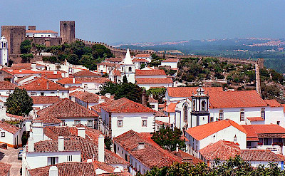 Obidos, Portugal. Photo via Wikimedia Commons:Paulo Juntas