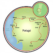 Jewels of Portugal Map
