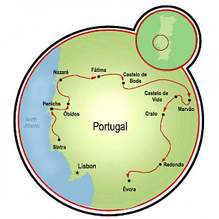 Joias de Portugal Map