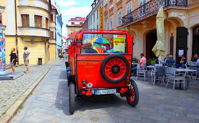 Sightseeing in Altstadt in Bratislava, Slovakia. Photo via TO