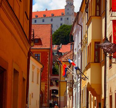 Bike rest in Bratislava, Slovakia. Photo via Tour Operator