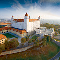 Bratislava Burg in the Slovak Republic. ©Slovak Tourist Board