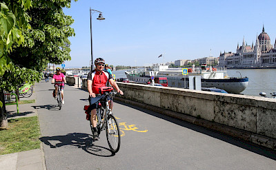 Bike the Danube in Budapest, Hungary. ©TO