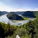 Danube Bend near Schlogen, Austria. Photo via Tour Operator