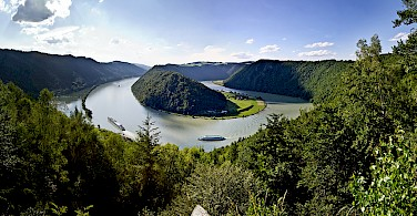 Danube Bend near Schlogen, Austria. Photo via Tour Operator
