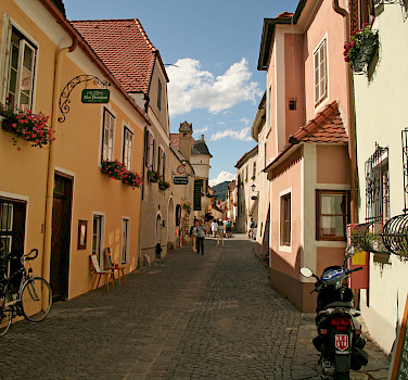 Durnstein in the Wachau Valley, Austria. Photo via Flickr:jay8085