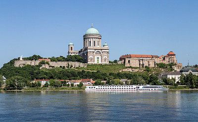 Biking and boating in Esztergom, Hungary. ©TO