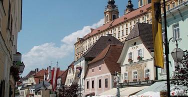 Biking through Krems, Austria. Photo via Flickr:MuntyPix