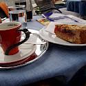 'Linzertorte with Kaffee' in Linz, Austria. Photo via Flickr:MuntyPix