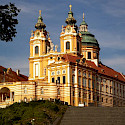 Abbey of Melk, Austria. Photo via Austrian National Tourist Office