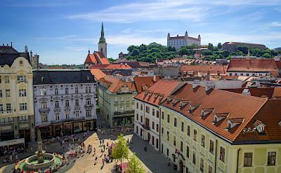 Old Town in Bratislava, Slovakia. CC:Rob Hurson