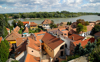 Along the Danube River in Szentendre, Hungary. Flickr:cordyph