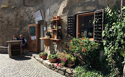 Wine tasting at a winery in the Wachau Valley, Austria. ©TripSite's Elena