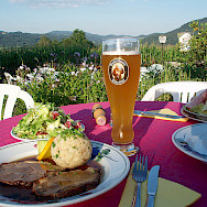 Lunch in Grein, Austria. Photo via Flickr:MuntyPix