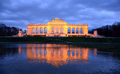 Schönbrunn Palace gardens in Vienna, Austria. Photo via Flickr:Anthony Greyes