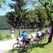 Cycling the Schlogen along the Danube. Photo via Flickr:Don Heffernan