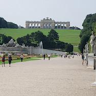 Bike rest at Schönbrunner Schloss, Vienna, Austria. Photo via Flickr:MuntyPix