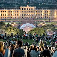 Concert at Schönbrunn Palace in Vienna, Austria. Photo via Flickr:leonhard.konitsch